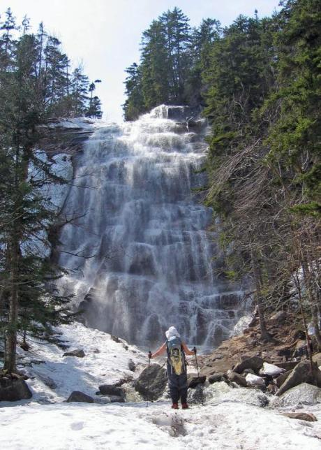 Arethusa Falls. The highest single-drop waterfall in New Hampshire (and maybe the highest in New England) is Arethusa Fall