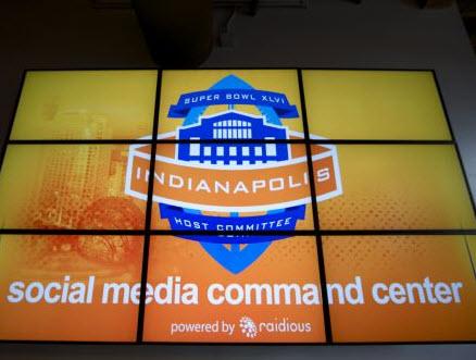 2011/2012 first ever Social media command center.