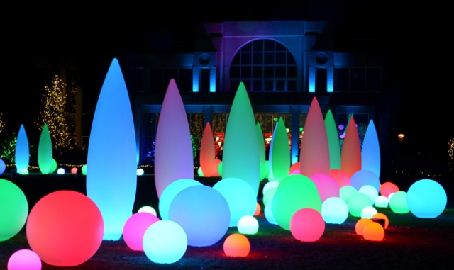 Holiday Lights, Atlanta Botanical Nights