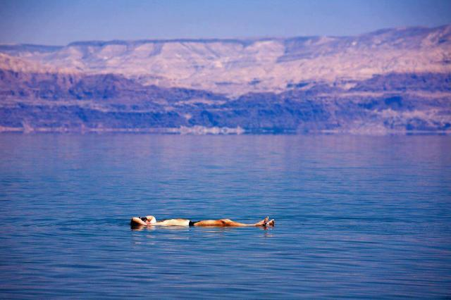 Life's dead calm at the Dead Sea