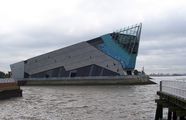 England Aquarium near Manchester is called The Deep. The World's Only Submarium