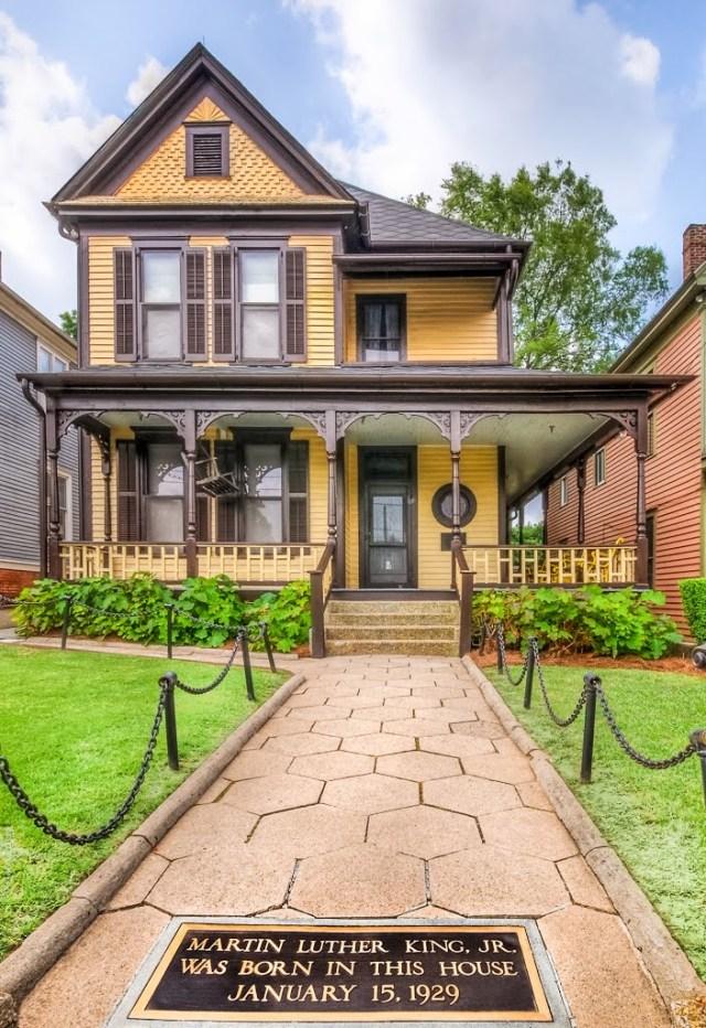 Atlanta Sweet Auburn Street, Houses King Family Dreams
